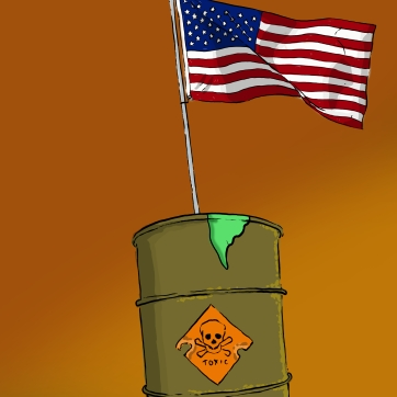 Toxic America by James Blanchard